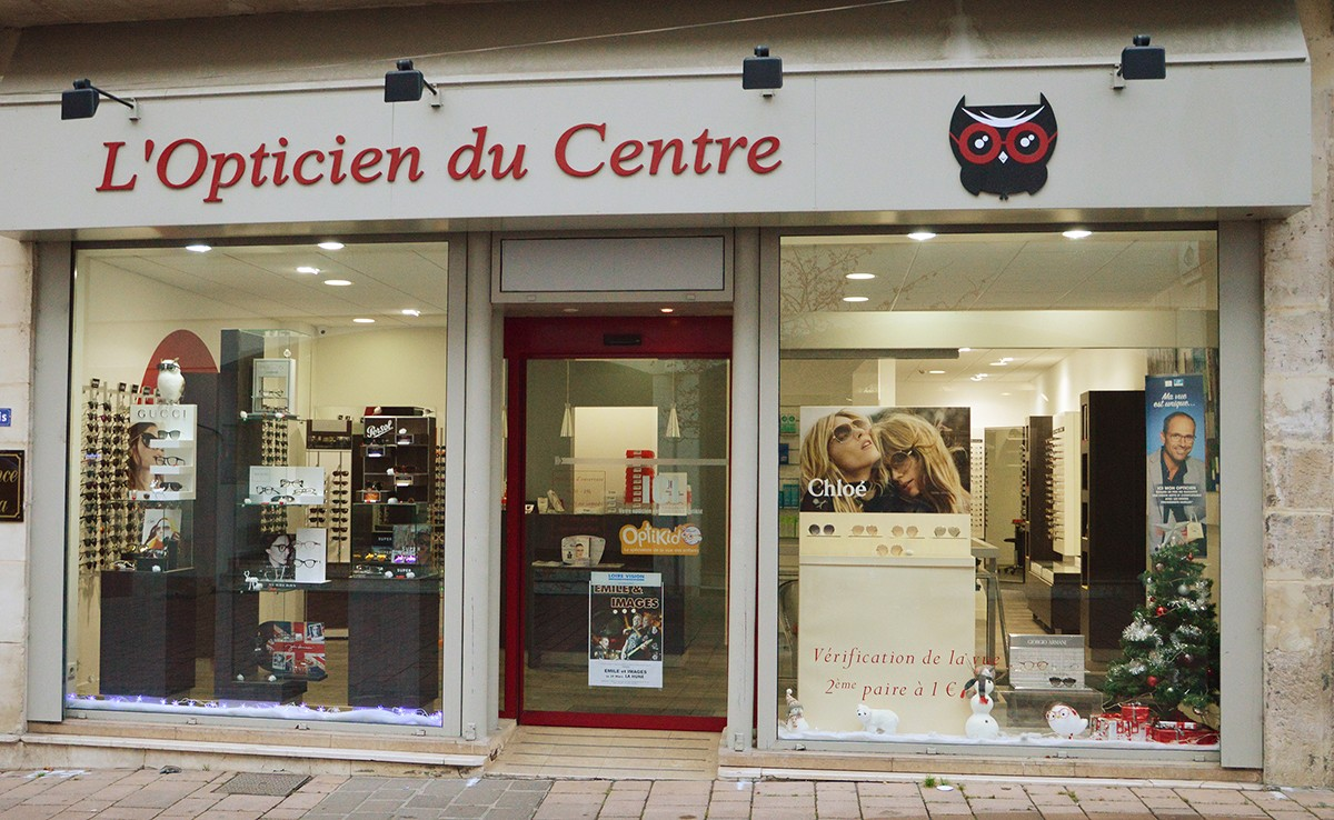 Opticien pour enfant à  L'OPTICIEN DU CENTRE