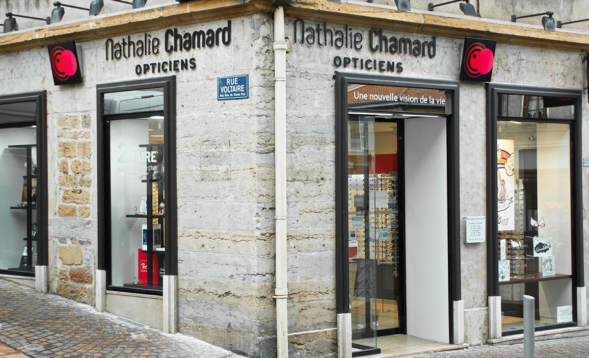 Opticien pour enfant à  NATHALIE CHAMARD OPTICIENS